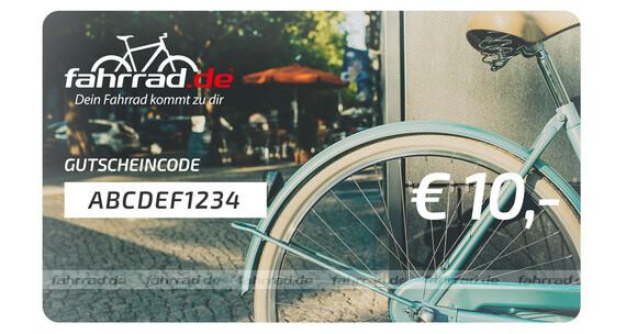 fahrrad.de Geschenkgutschein 10 €
